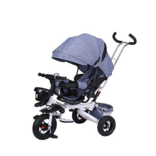 Best Review Of Song Radio Flyer Tricycle 4 in 1 Children Bicycle Collapsible Baby Stroller Kids Toy ...