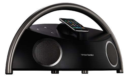 Harman Kardon Go and Play Micro kompatibel mit Apple iPhone / iPod Dock schwarz