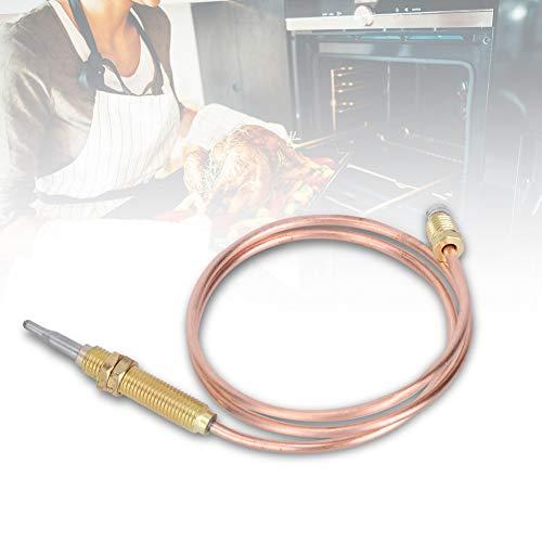 M8 Thermoelement Ersatz, BBQ Grill Kamin Heizung Gasbrenner Thermoelement Sonde 600mm, für Gas Heizung Brazier Backofen Wasserkocher