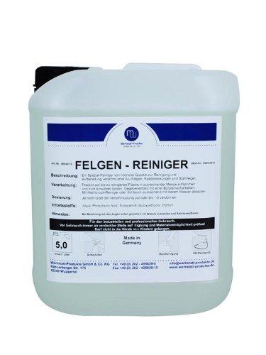 MW Felgen Reiniger Konzentrat Stahl Alu Auto Pflege Wäsche 5L