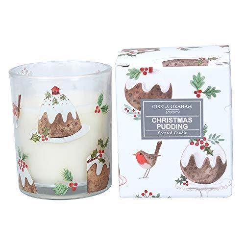 Gisela Graham Christmas Pudding Scented Candle