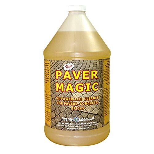 Paver Magic - High Power Concrete, Brick and Paver Cleaner-1 gallon (128 oz.)