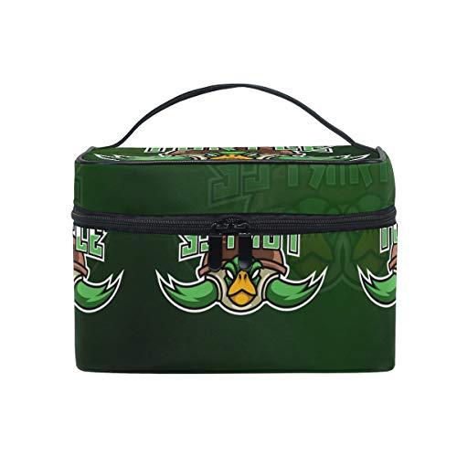 Tortuga Verde Ninja Bolsa Mochila de Maquillaje Almacenamiento Organizador de Cosméticos