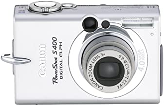 Canon PowerShot S400 4MP Digital Camera w/ 3x Optical Zoom