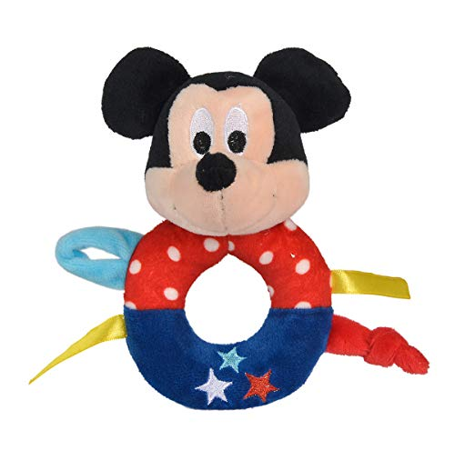 Simba 6315876387 Disney Mickey Ring Hochet Color