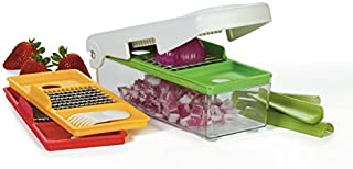 Vidalia Chop Wizard Pro - SLICES, DICES AND CHOPS - 30% More Chopping/Dicing Area Than Other Brands. Extra Large Capacity