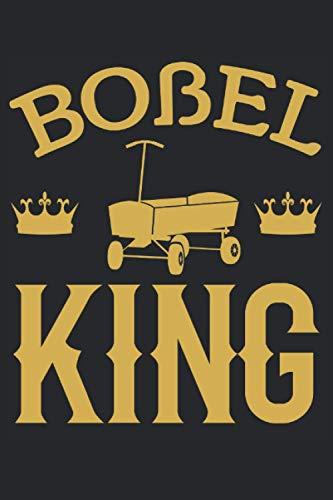 Boßel King - Boßeln Boßel König Herren Geschenk Notizbuch (Taschenbuch DIN A 5 Format Liniert): Boßeln Geschenkidee Notizbuch, Notizheft, Schreibheft, ... Design für Männer die dieses Spiel lieben.