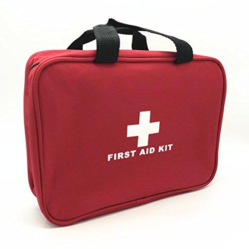 AOYATIME応急処置キット救急セット救急箱 防水隔てる網2層 携帯用救急箱 メディカルポーチ ミニ救急箱地震防災医療バッグ