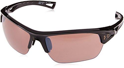 Onder Armour UA Octane Wrap zonnebril, UA Octane Gloss zwart/zwart/weg, M/L