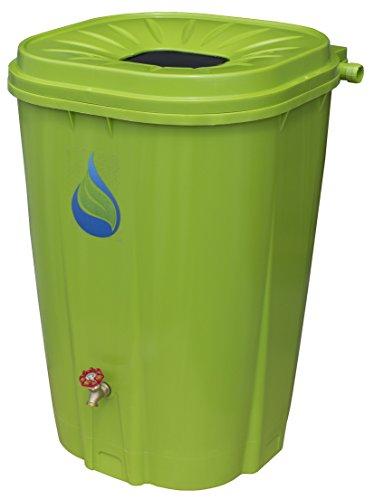 Enviro World Corporation EWC-15 55 Gal. Rain Barrel, Green