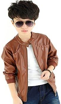 kids leather jacket boys