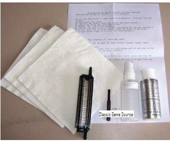 Nintendo Nes 72 Pin Connector & Pro Cleaning Kit