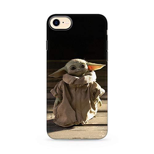 Original & Offiziell Lizenziertes Star Wars Baby Yoda Handyhülle für iPhone 7, iPhone 8, iPhone SE2, Hülle, Hülle, Cover aus Kunststoff TPU-Silikon, schützt vor Stößen & Kratzern, Mehrfarbig