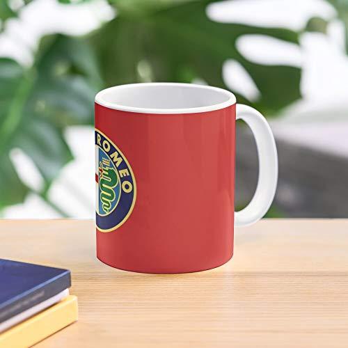 Alfa Romeo Mug Best 11 oz Kaffeebecher - Nespresso Tassen Kaffee Motive