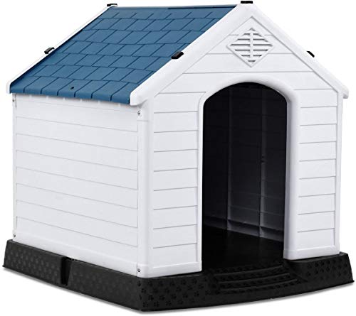 Best dog houses for hot weather, Giantex Plastic Dog House