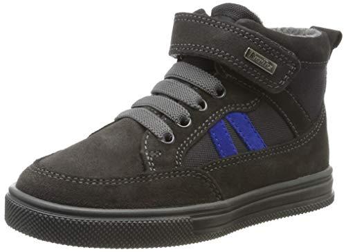 Richter Kinderschuhe Jungen Ola Hohe Sneaker, Grau (Steel/Stone/Liberty 6501), 27 EU