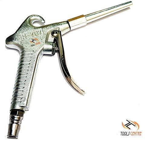 KROST Metal Body Air Blow Gun Dust Gun, Silver