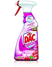 DAC Trigger Multi-Purpose Cleaner Spray - Rose (500ml), for Germs and Bacteria Removal, Dirt Repel Technology and Long-Lasting Cleanliness