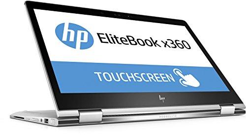 HP EliteBook x360 1030 G2 (13,3 Zoll / FHD Touch) Business Convertible (Intel Core i7-7600U, 8 GB RAM, 256GB SSD, Intel HD Grafik, Windows 10 Pro) silber