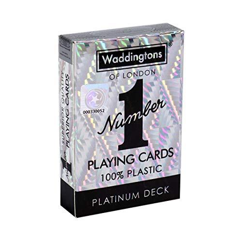 Winning Moves 035521 Platin Number 1 Spielkarten Deck, Einheitsgröße