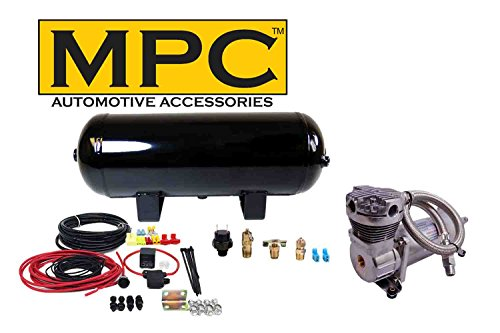 MPC Onboard Air System w/150psi, 100% Duty Compressor, 3 Gal Tank for Horns, Air Bag