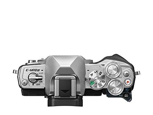 OLYMPUSミラーレス一眼カメラOM-DE-M10MarkIIIボディーシルバー