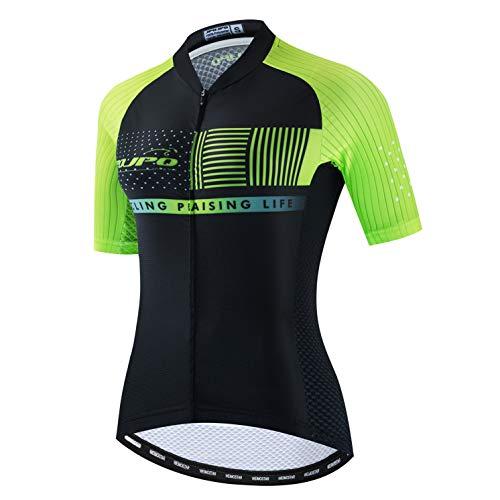 Maillot de ciclismo para mujer, manga corta, deportes de carreras, Mujer, color...