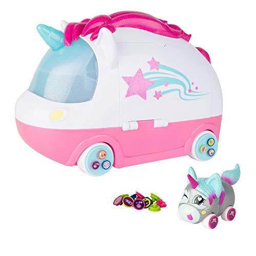 Ritzy Rollerz Dance & Glitter spa speelset – mini-auto's voertuigen om te verzamelen en te spelen voor meisjes en jongens – vanaf 4 jaar – ideaal als cadeau voor kinderverjaardag