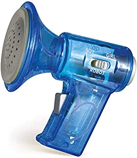 "Mini Voice Changer Megaphone Toy – 3"" Inch Kids Novelty Changes Voice to Boy Girl Robot Voice Colors Will Vary"