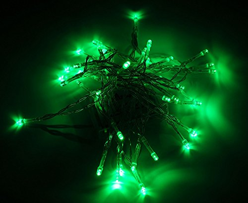 Karlling Battery Operated Green 40 LED Fairy Light String Wedding Party Xmas Decorations(Green)