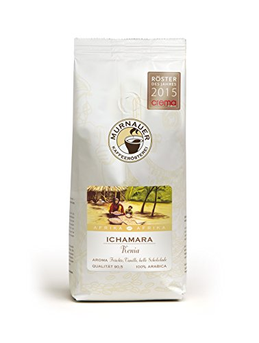 Murnauer Kaffeerösterei ICHAMARA - Kaffeebohnen aus Kenia - Premium Kaffee - von Hand frisch & schonend geröstet - Espresso und Filterkaffee