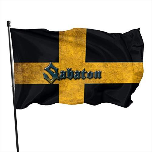 123456789 Sabaton Hausgarten Flagge Bauernhaus Sommer Hof Outdoor Decor Outdoor Flags 3x5 Ft