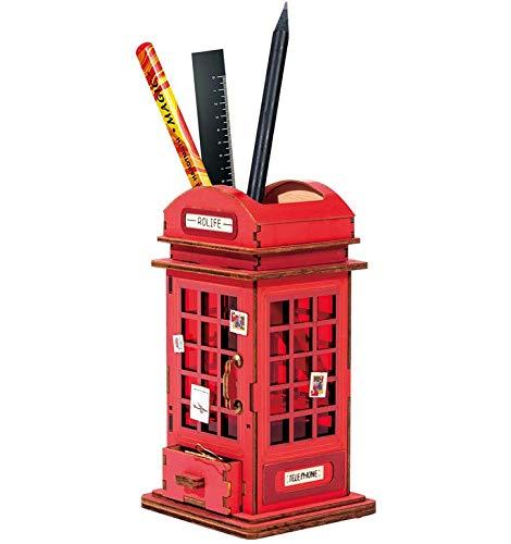 ペン立て卓上文房具収納用品 小物入れ ペン立て かわいい DIY 筆筒 筆立て ペンスタンド 事務用品 飾り箱 ペンコンテナ 雑貨入れ