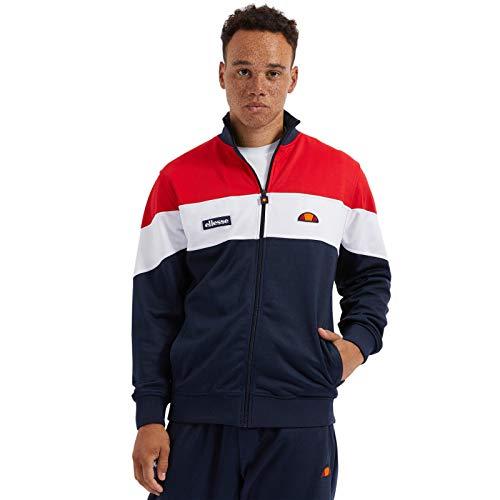 ellesse Herren Caprini Track Top Sweatshirt, Marineblau, S