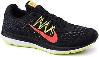 14f440800 Tênis Zoom Winflo 5 Nike Preto Verde Limão Coral - AA7406-004