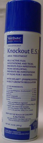 Virbac Knockout E.S. Area Treatment Carpet Spray,...
