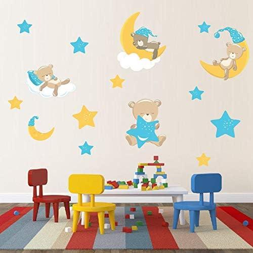 Vxhohdoxs Baby Room Animals Moon Wall Import SALENEW very popular! Decor Home Stars Stickers