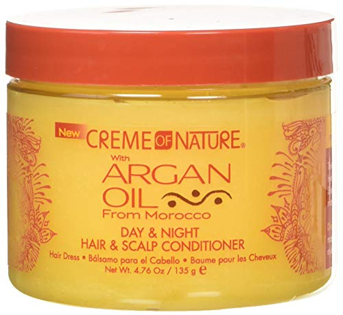 Creme Of Nature Argan Oil Day Night Hair and Scalp Conditioner, 135 g