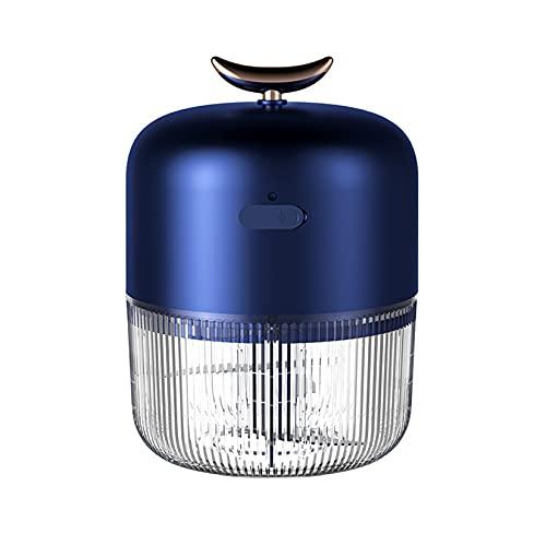 LORIEL Ajo Eléctrico Master, Carga USB De Carga De Ajo Master, 150 Ml De Gran Capacidad / 30 Segundos para Jugar A La Máquina Complementaria De Suplemento Alimenticio Eléctrico De Alimentos,Azul