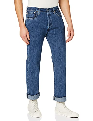 Levi's 501 Original B&T Jeans, Stonewash 80684, 4036L Uomo