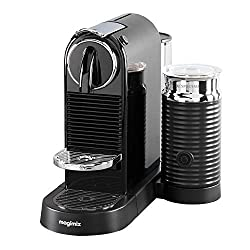 Includes a selection of 16 different Nespresso capsules Fast 25 seconds heat up time. Dimensions(WxDxH)(cm): 13.0 x 27.8 x 37.2 Removable 1 L water tank Integrated Aeroccino3 for hot or cold milk froth Programmable, one-touch buttons
