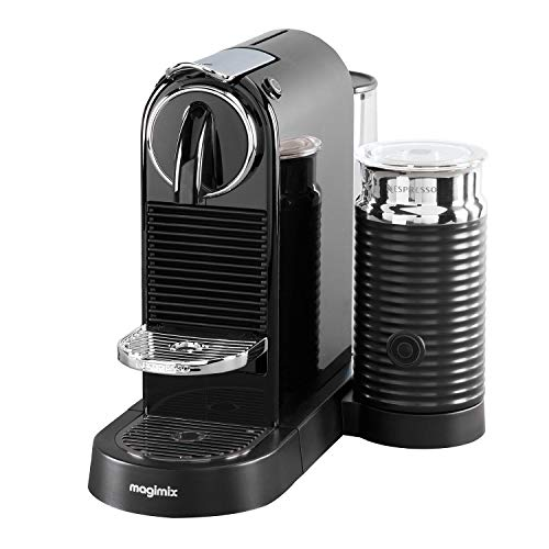 Nespresso Citiz and Milk Coffee Machine, Black by Magimix