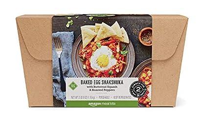 Amazon Meal Kits, Baked Egg Shakshuka with Butternut Squash & Roasted Peppers, Serves 2