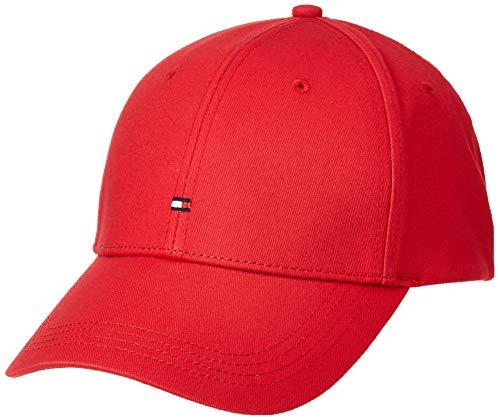 Tommy Hilfiger Classic Bb Cap - Sombrero para hombre, color apple red, talla OS