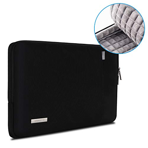 Annwer 360 Protective Laptop Sleeve with Accessory Pocket for 13-inch New MacBook Air with Retina Display A1932, 13 Inch New MacBook Pro for A2159 A1989 A1706 A1708, 12.9' New iPad Pro