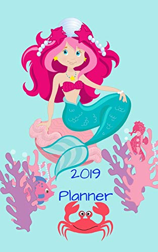 2019 Planner: Weekly planner 5 x 8 inches perfect to slip into a rucksack or bag. 1 week to a page with space for a 'to do' list
