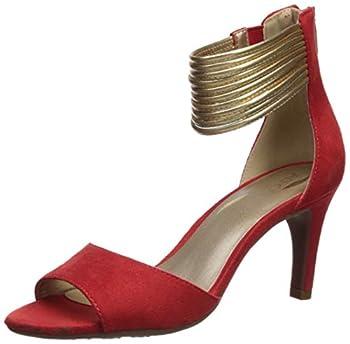 Aerosoles Women s Glamour Girl Heeled Sandal red Combo 9.5 M US