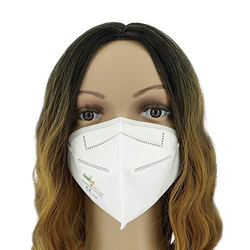 FFP2 Atemschutzmaske 10 Stück Packung CE-Zertifizierte Atem Maske im hygienischen PE-Beutel Staubschutzmaske für alle Bereiche - 3