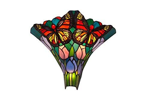 Ivintage Butterfly Applique murale, multicolore, 16 X 37 X 30 Cm