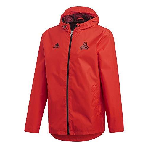 adidas Herren TAN Windbreaker Jacket, rot, XL